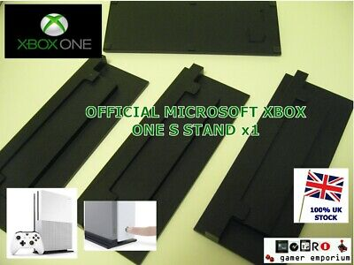 GENUINE Microsoft XBOX ONE S SLIM Console - Vented Vertical Stand Dock Holder x1