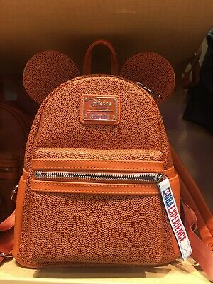 Disney NBA Experience Mickey Mouse Backpack Loungefly New In Hand