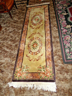 Antique Traditional Chinese Oriental Rug, Art Deco, TIANJIN FACTORY