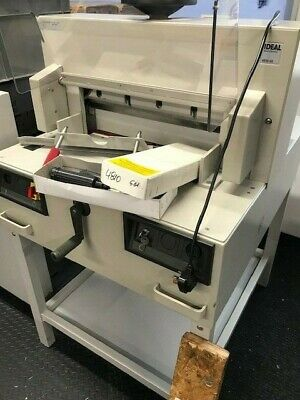 Ideal 4810 Electric Guillotine IMMACULATE CONDITION Full Service History Extras