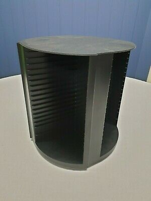 3 x Laserline 80 CD Rotating Spinning Storage Towers