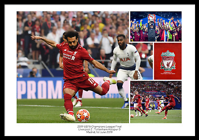 Liverpool Football Club LFC 2019 Champions League Final Photo Memorabilia Poster