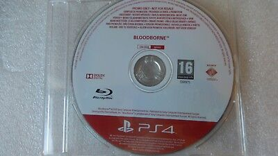 Bloodborne PS4 PROMO Game Rare for Sony PlayStation 4 Promotional Bloodborne