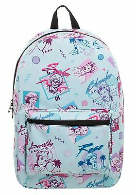 Golden Girls Multicolor All Over Print Sublimated Backpack