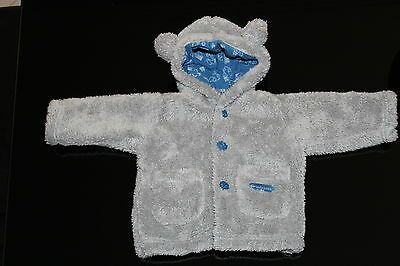 PUMPKIN PATCH BABY BOYS INFANT JACKET WITH BEAR EARS size 3-6mths