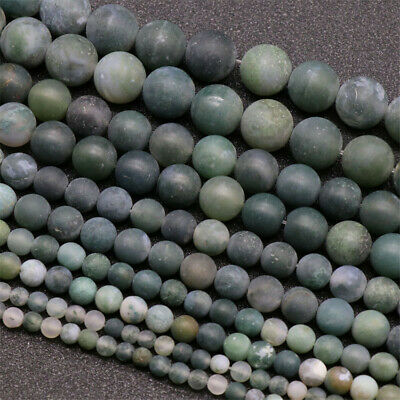Nature Frosted Aquatic Agate Beads Diy Accessories Opaque Charm Jewelry Making