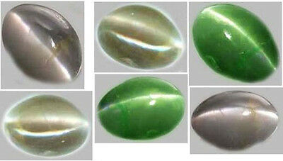 19thC Antique Handcrafted 1ct Natural Russian Color-Change Alexandrite Cat's-Eye