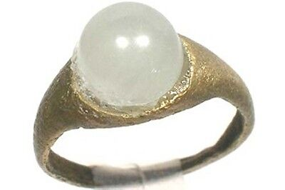 AD200 Roman Noricum Austria Child's Ring + Antique 19thC 1ct+ Russian Aquamarine