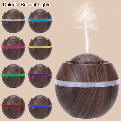 500Ml Aromatherapy Diffuser LED Essential Oil Ultrasonic Air Humidifier Purifie