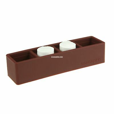 Silicon Double Compressed Napkin Holder Brown