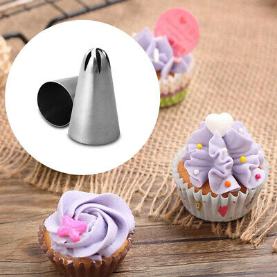 Pastry Tips Icing Piping Nozzles Cake Decorating Baking Mold Ice Cream Tool