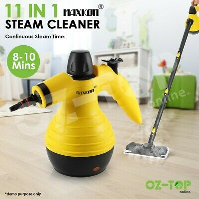 Maxkon 11in1 Portable Steam Cleaner Mop Pressure Floor Water Steamer Cleaning