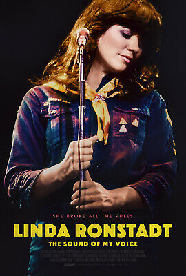 "Linda Ronstadt The Sound of My Voice Poster 48x32"" 36x24"" Film 2019 Print Silk"