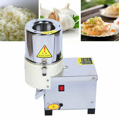 Commercial Electric Vegetable Chopper Grinder Food Efficiently Cutting Machine!!