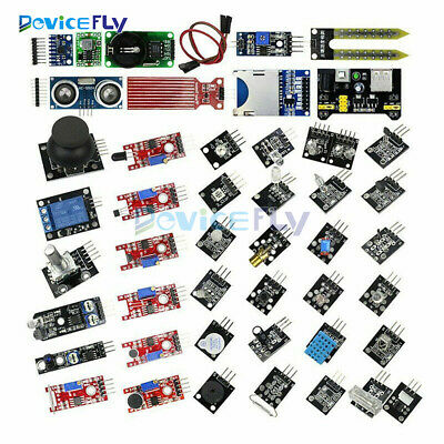 37 in 1/45 in 1 Sensor Module Kit Set For Raspberry Pi & Arduino& MCU Education