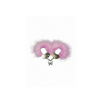 Metal and Feather Handcuffs - Pink costrittivo manette BDSM sadomaso legatura mi