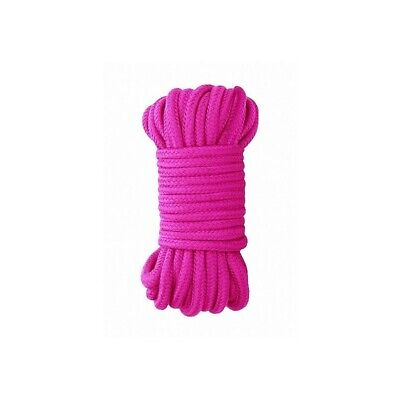 Ouch! Japanese Rope 10 Meter - Pink costrittivo manette BDSM sadomaso legatura m