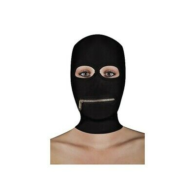 Extreme Zipper Mask with Mouth Zipper costrittivo manette BDSM sadomaso legatura