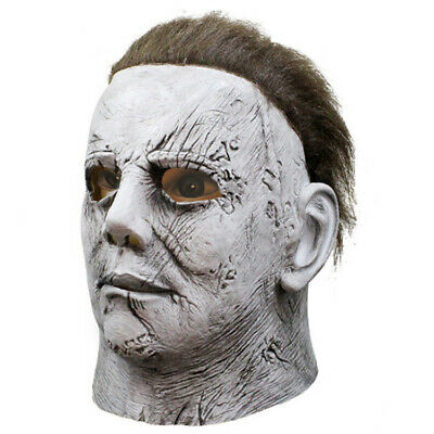 Michael Myers Mask Halloween 2019 Horror Movie Cosplay Adult Latex Masks SES