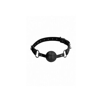 Ouch! Skulls and Bones - Silicone Ball Gag - Black costrittivo manette BDSM sado