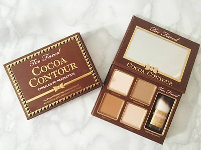 Too Faced Cocoa Face Contour Chiseled To Perfection Highlighter Kit Palette UK