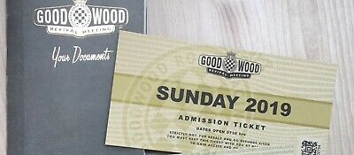 goodwood revival Ticket/place