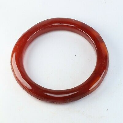 Chinese agate carved Agate arm bracelet K406