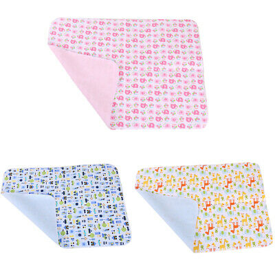 1X Baby Nappy Changing Mat Reusable Home Travel Wipe Clean Toddler Child Newborn