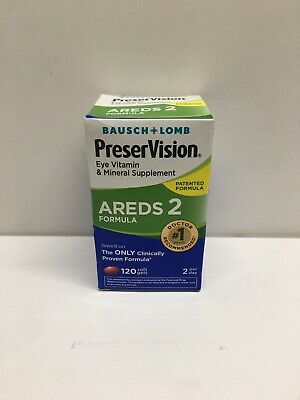 Preservision Areds 2 Vitamin and Mineral Supplement Soft Gels 120 Count