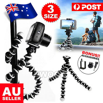 New Flexible Octopus Tripod Stand Gorilla Pod For Universal Phone GoPro Camera