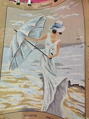 Tapestry Lady by the Sea 60 x 75 cm