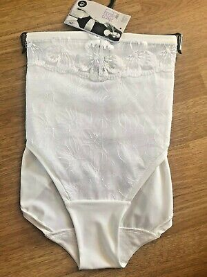 BNWT LADIES M/&S LACE HIGH LEG KNICKERS 3 PAIR SIZE18 GREY MARL