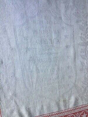 """Antique Belfast Linen Fabric Natural Solid Off-White 36/""""w 1yd Label Not Included"""