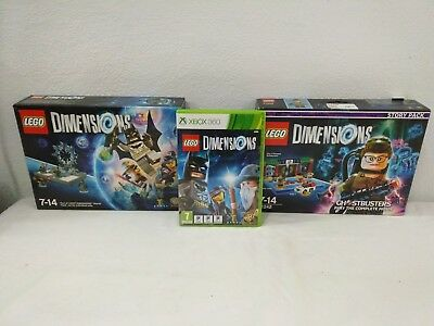 Xbox 360 - Pack Lego Dimensions - ESP + Starter Pack + Story Mode Ghostbusters