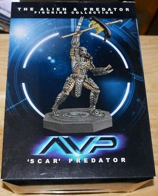 Eaglemoss Aliens & Predator Figurine Collection #2 AVP Scar Predator NEW