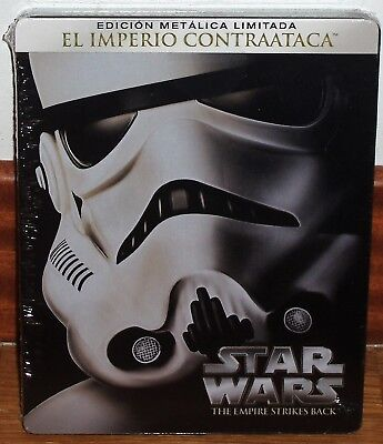 Star Wars El Empire Strikes Back Neuf Steelbook Blu-Ray Action (sans Ouvrir) R2