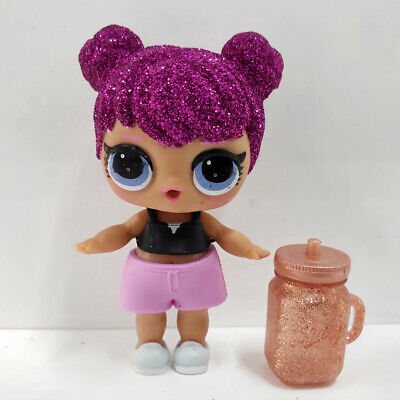 lol doll Big Sister Serie Glitter Purple Hair Pink  Dress Kids Birthday Gift