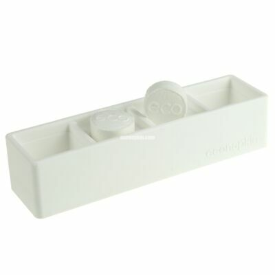 Silicon Double Compressed Napkin Holder White