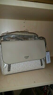 2a0975fe556e GUESS FACTORY WOMEN'S Desire Logo-Embossed Large Crossbody perfect ...