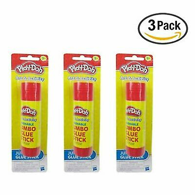 Play-Doh Washable Jumbo Glue Stick (Pack Of 3)