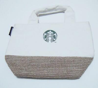 Starbucks JAPAN Cool Cooler Tote bag ice bag Cold insulation Canvas Summer 2019