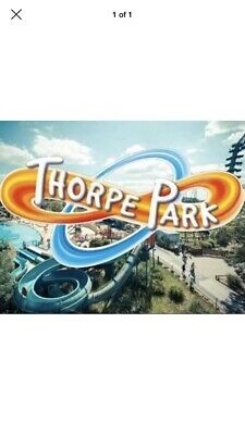 Thorpe Park Tickets X 2 Saturday 14th September 14/09/19 ETickets Adult Or Child