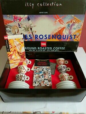 6 Tazzine ILLY COLLECTION - JAMES ROSENQUIST - 1996