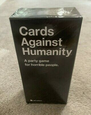 Cards Against Humanity UK Edition 2.0 Original playing cards party fun gift