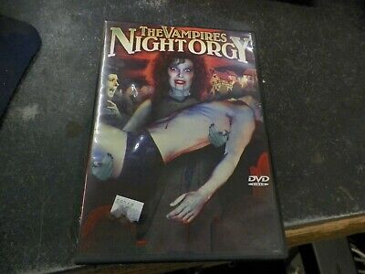 THE VAMPIRES NIGHT ORGY Unrated Adult DVD 2003