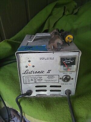 LESTER LESTRONIC II 48 Volts Automatic Battery Charger Model