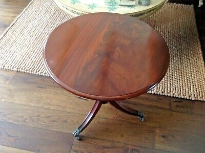 MAHOGANY TABLE SIZE 21in Diameter X 20in Height