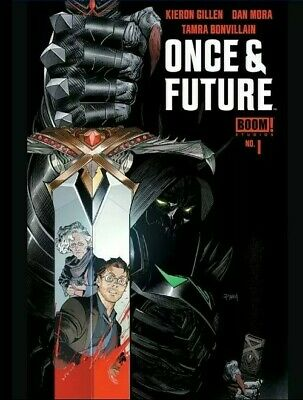 ONCE AND FUTURE #1 Boom 1st Print Hot New Comic Book, Kieron Gillen...NM Unread