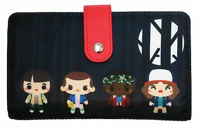 Loungefly Stranger Things - Chibi Style Upside Down Wallet - NFXWA0011