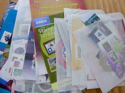Canada - Lot of Mint Stamps - CAN$ 450.00 Face - No Reserve!